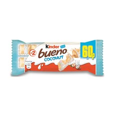 KINDER BUENO COCONUT LIMITED EDITION 60p (30 PACK)