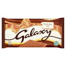GALAXY GIANT SMOOTH MILK CHOCOLATE LARGE GIFTING SINGLE BAR 360g
