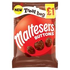 TREAT £1 MALTESER BUTTONS