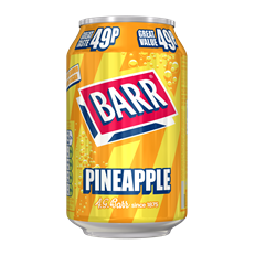 BARRS 49P PINEAPPLEADE 330ml (24 PACK)