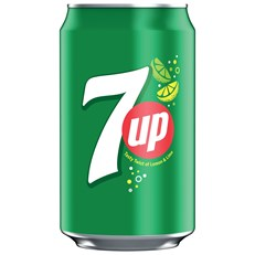 7UP SPARKLING LEMON & LIME FLAVOURED DRINK CANS 330ML (24 PACK)