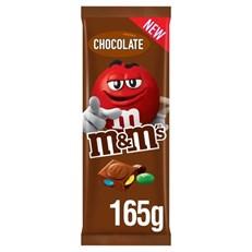 M&M'S BLOCK CHOCOLATE 165g (16 PACK)
