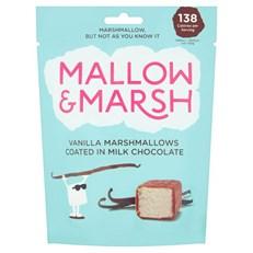 MALLOW & MARSH VANILLA MARSHMALLOWS MILK CHOCOLATE 100g