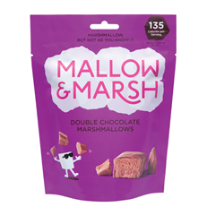 MALLOW & MARSH DOUBLE CHOCOLATE MARSHMALLOWS 100g