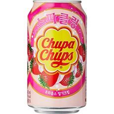 CHUPA CHUPS CANS STRAWBERRY FULL SUGAR 345ml (24 PACK)