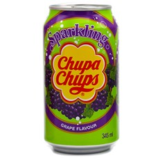 CHUPA CHUPS CANS GRAPE FULL SUGAR 345ml (24 PACK)
