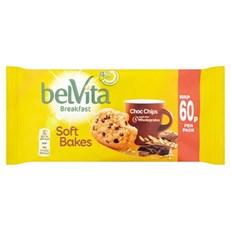 BELVITA 60P SOFTBAKES CHOC CHIP