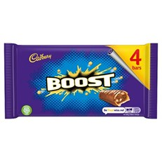 CADBURYS BOOST £1 (9 x 4 PACK)