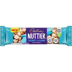 CADBURY NUTTIER COCONUT & ALMOND 40g (3 PACK)
