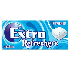 WRIGLEYS EXTRA REFRESHERS PEPPERMINT 7 Pieces (16 PACK)