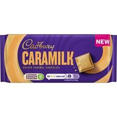 CADBURYS CARAMILK GOLDEN CARAMEL CHOCOLATE 90g (24 PACK)