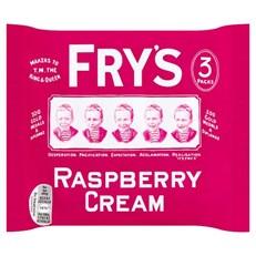 FRYS RASPBERRY CREAM (18 x 3 PACK)