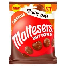 MALTESER ORANGE BUTTONS TREAT BAG 68g £1 (20 PACK)