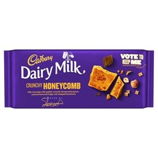 CADBURYS DAIRY MILK HONEYCOMB & NUTS 105g £1 (19 PACK)