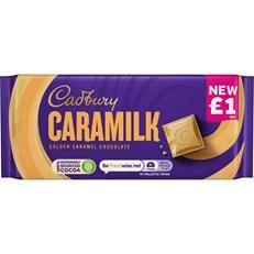 CADBURYS CARAMILK GOLDEN CARAMEL CHOCOLATE 80g £1 (26 PACK)