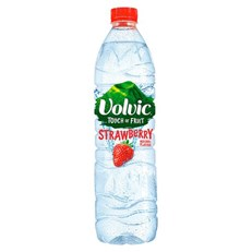 VOLVIC TOUCH OF FRUIT STRAWBERRY 1.5 Litre (6 PACK)