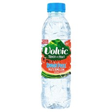 VOLVIC TOUCH OF FRUIT SUGAR FREE WATERMELON 500ml (12 PACK)