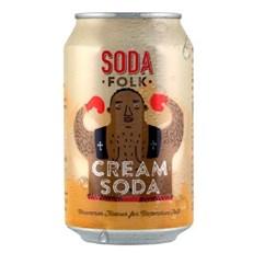 SODA FOLK CREAM SODA CANS