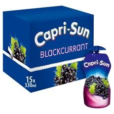CAPRI SUN SPORT BLACKCURRANT 330ml (15 PACK)