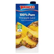 PRINCES or SUNPRIDE PINEAPPLE JUICE 1Litre ( 12 PACK)