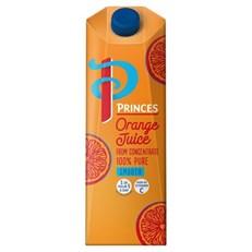PRINCES or SUNPRIDE ORANGE JUICE 1 Litre (12 PACK)