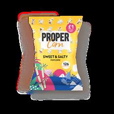 PROPERCORN SWEET & SALTY POPCORN £1