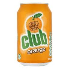 CLUB ORANGE 330ml (24 PACK)