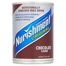 NURISHMENT £1 CHOCOLATE CANS