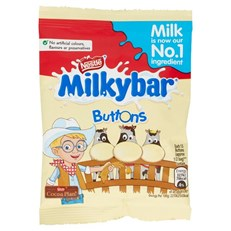 MILKYBAR WHITE CHOCOLATE BUTTONS 30g (48 PACK)