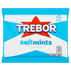 TREBOR SOFTMINTS SPEARMINT (18 x 4 PACK)
