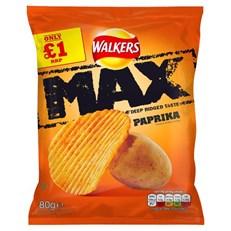 WALKERS £1 MAX PAPRIKA