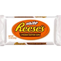 REESE'S CUPS WHITE CHOCOLATE 2 CUPS 42g (24 PACK)