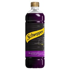 SCHWEPPES CORDIAL BLACKCURRANT