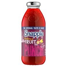 SNAPPLE FRUIT PUNCH 473ml (12 PACK)
