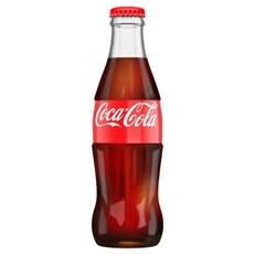 COCA COLA GLASS BOTTLES 330ml (24 PACK)