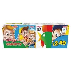 KELLOGGS £2.49 VARIETY PACK ( 6 x 8PACK)