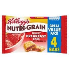KELLOGGS CEREAL BARS NUTRIGRAIN MULTIPACK STRAWBERRY