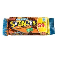 KELLOGGS RICE KRISPIE SQUARES CHOCOLATEY ORANGE 36g 59p (30 PACK)