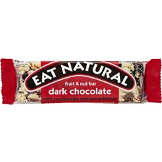 EAT NATURAL DARK CHOCOLATE WITH CRANBERRIES & MACADAMIAS 45g (12 PACK)