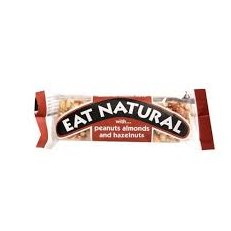 EAT NATURAL PEANUT & ALMOND WITH WALNUTS & HAZELNUTS 50g (12 PACK)