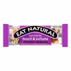EAT NATURAL BRAZIL & SULTANA WITH ALMONDS & PEANUTS 50g (12 PACK)