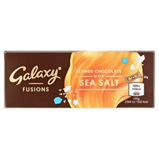 GALAXY FUSIONS BLONDE CHOCOLATE WITH SEA SALT 35g (19 pack)