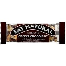 EAT NATURAL DARK CHOCOLATE WITH BRAZILS & APRICOTS 45g (12 PACK)