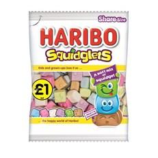 HARIBO £1 SQUIDGLETS 160g (12 PACK)