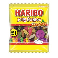 HARIBO £1 JELLY BABIES 160g (12 PACK)