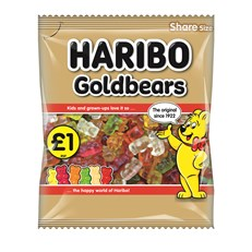 HARIBO £1 GOLD BEARS
