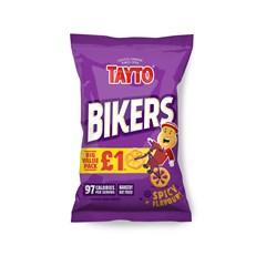 TAYTO £1 SPICY BIKERS 60g (16 PACKS)