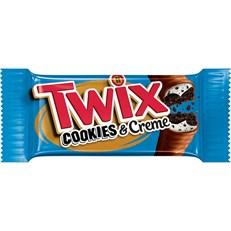 USA TWIX COOKIES & CREAM 38.6g  (20 PACK)