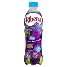 RIBENA BLACKCURRANT LIGHT 500ml (12 PACK)