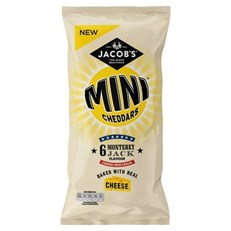 MINI CHEDDARS 6PACK MONTERY JACK
